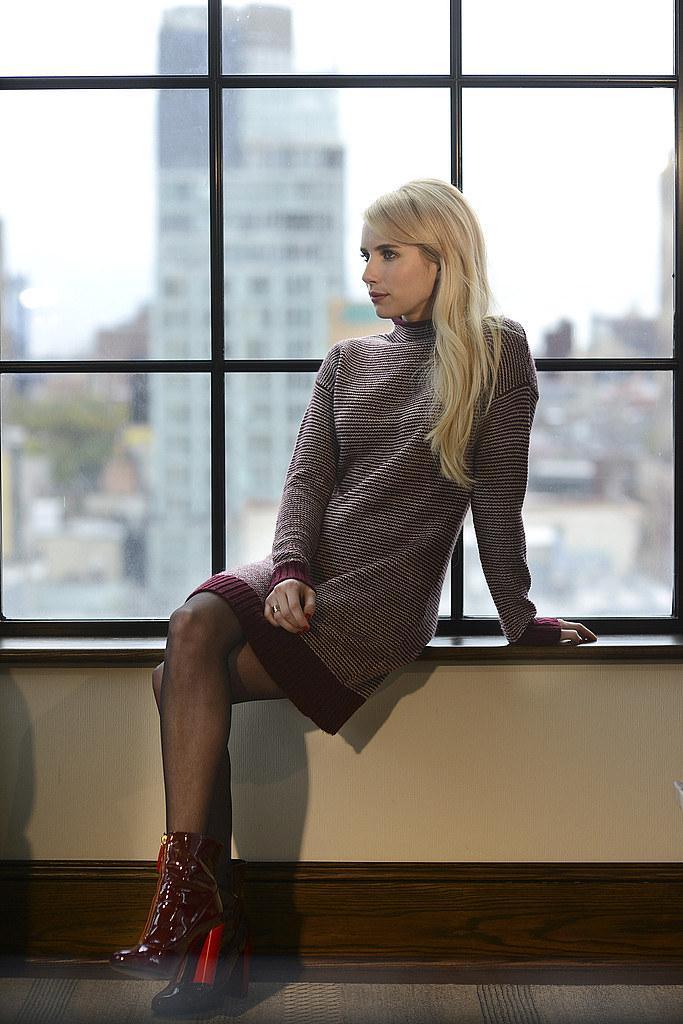Эмма Робертс — Фотосессия для «NY Times» 2015 – 3