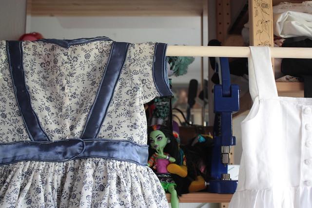 Delft, robe pour petite fille victorienne
