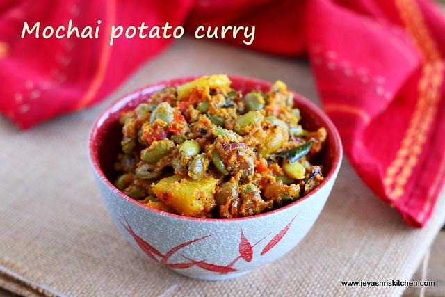 potato mochai curry