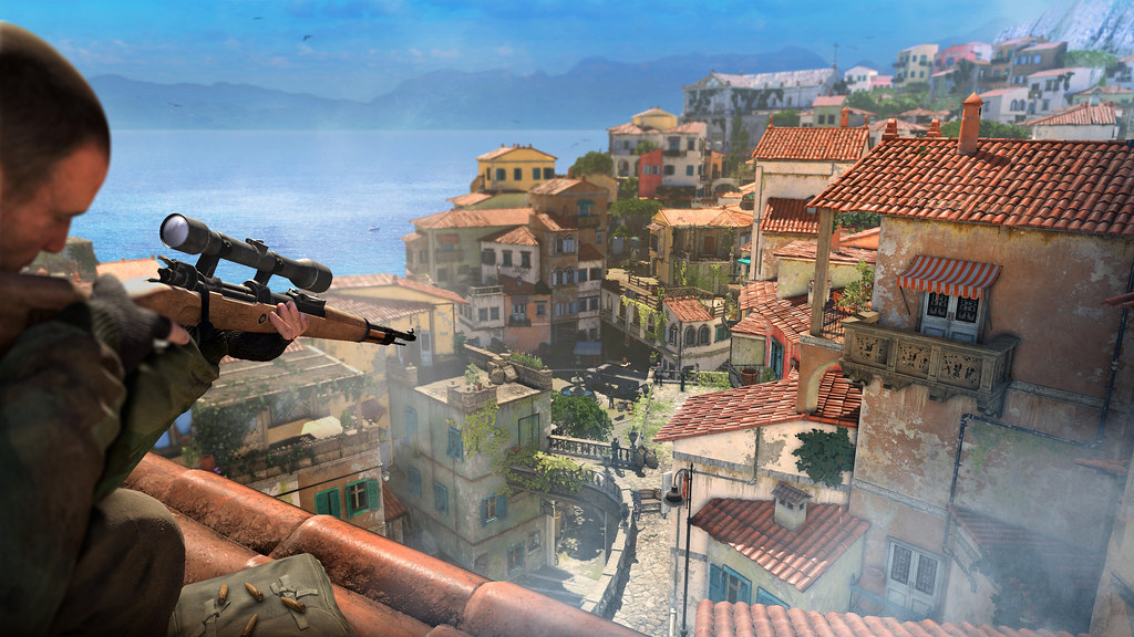 Sniper Elite 4 on PS4