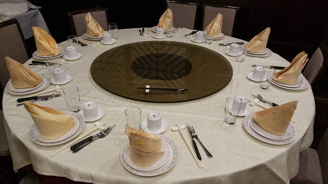 2016-Feb-24 Fortune House - table setting