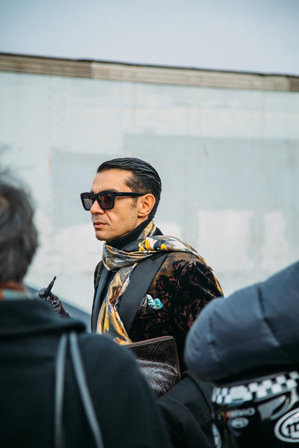 24909719809 1d53fbccc5 o - Стритстайл от Яны Давыдовой: Неделя моды в Милане, показ Gucci