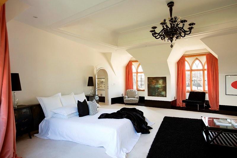 Дизайн спальни виллы в Новой Зеландии