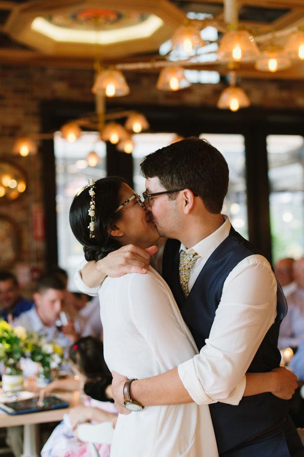 Kim & Matt celebrate their love! - A Cluny Bistro Wedding (Toronto)
