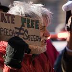 Protestors at AIPAC