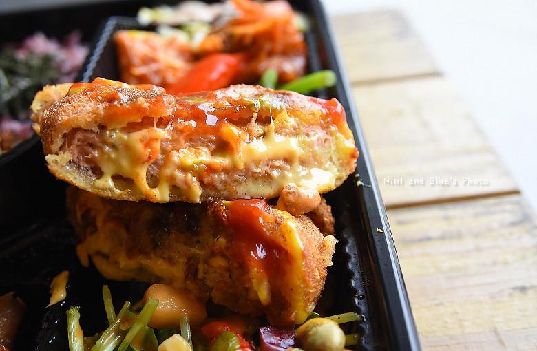 素食便當本東蔬食便當餐盒16