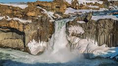 'Basalt Falls' - Aldeyjarfoss, Iceland