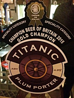 Titanic, Plum Porter, England