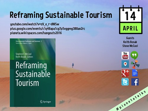 April 14 Reframing Sustainable Tourism Hangout