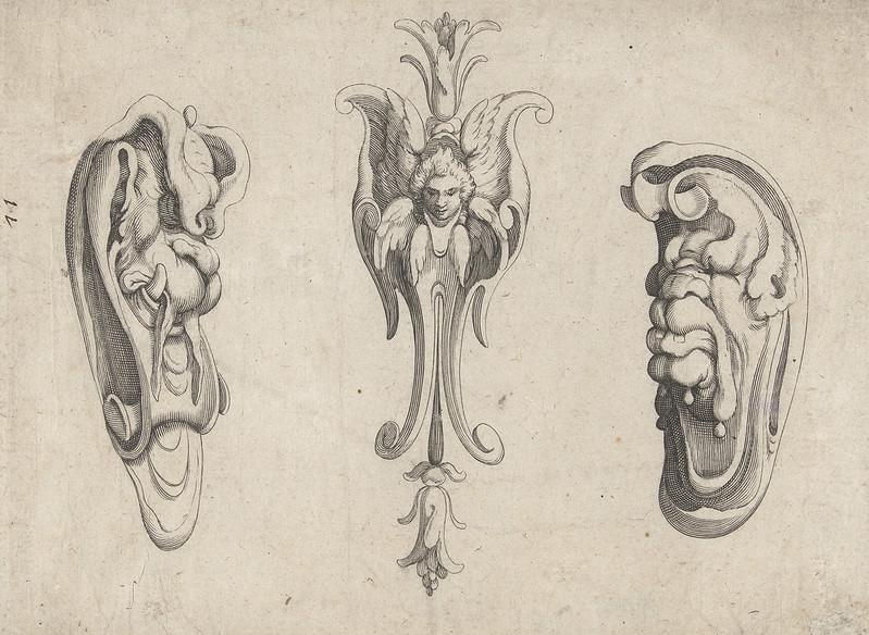 Arent van Bolten - Grotesque Creatures 7, 1604-1616