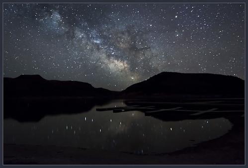 Black Tail Milky Way
