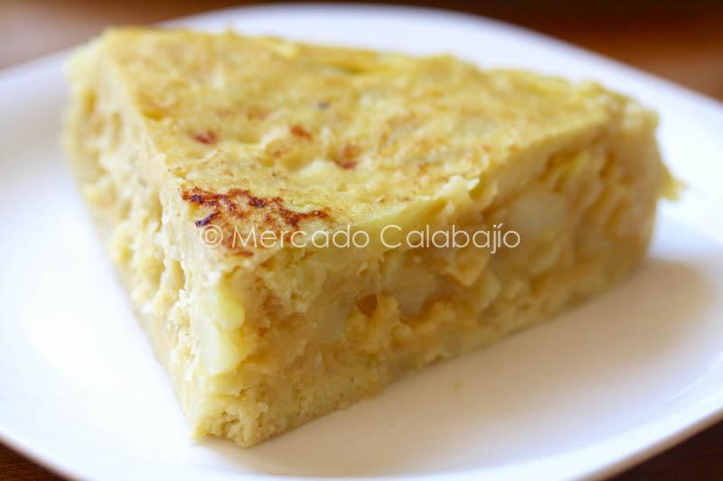 TORTILLA DE PATATAS Y CALABACIN-28