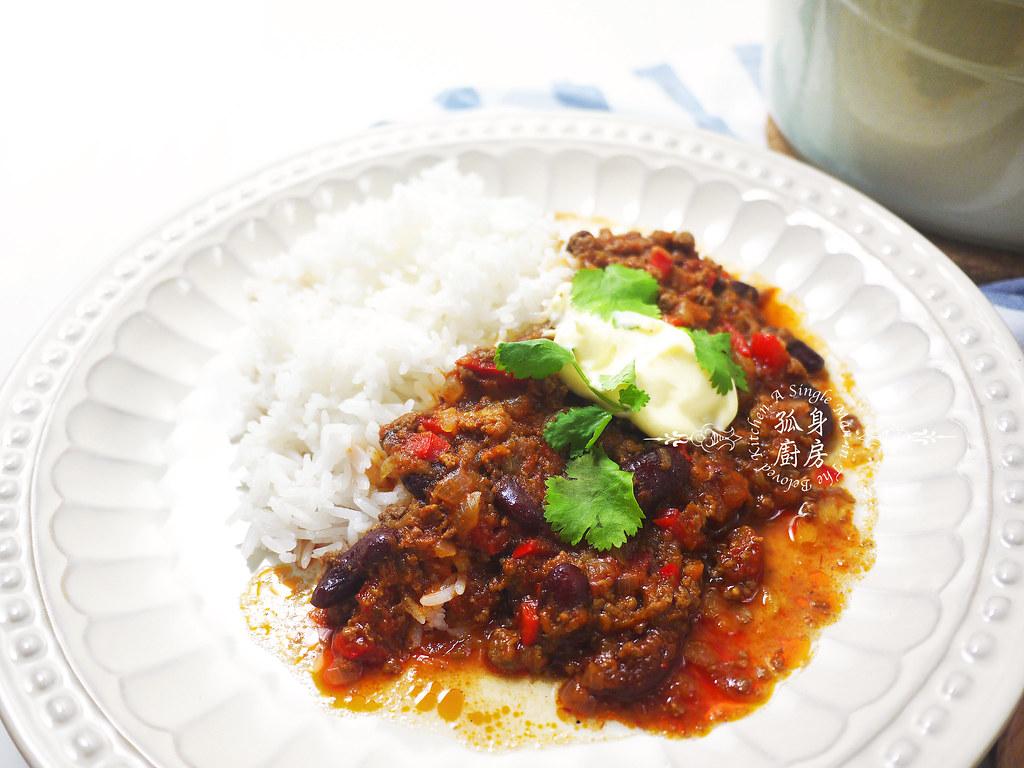孤身廚房-墨西哥辣醬佐香米44