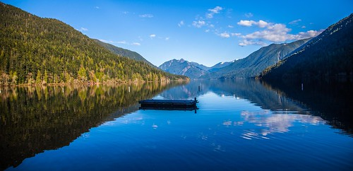 Panoramic Perfection! Lake Crescent, Washington
