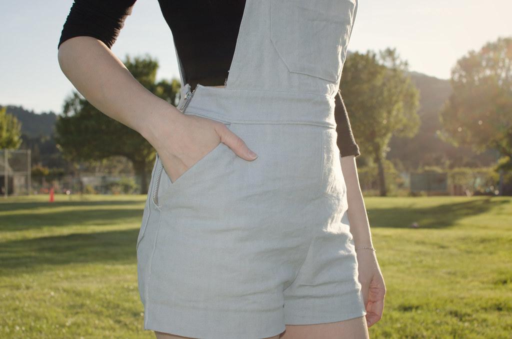 Lykke Wullf overall shorts