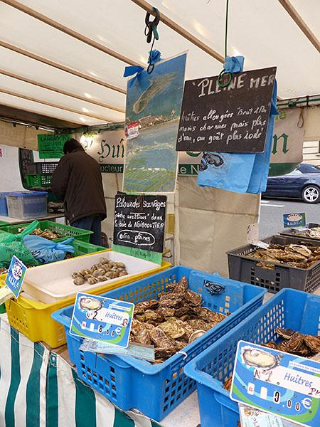 huîtres de pleine mer