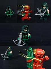 Flash Pranks Green Arrow