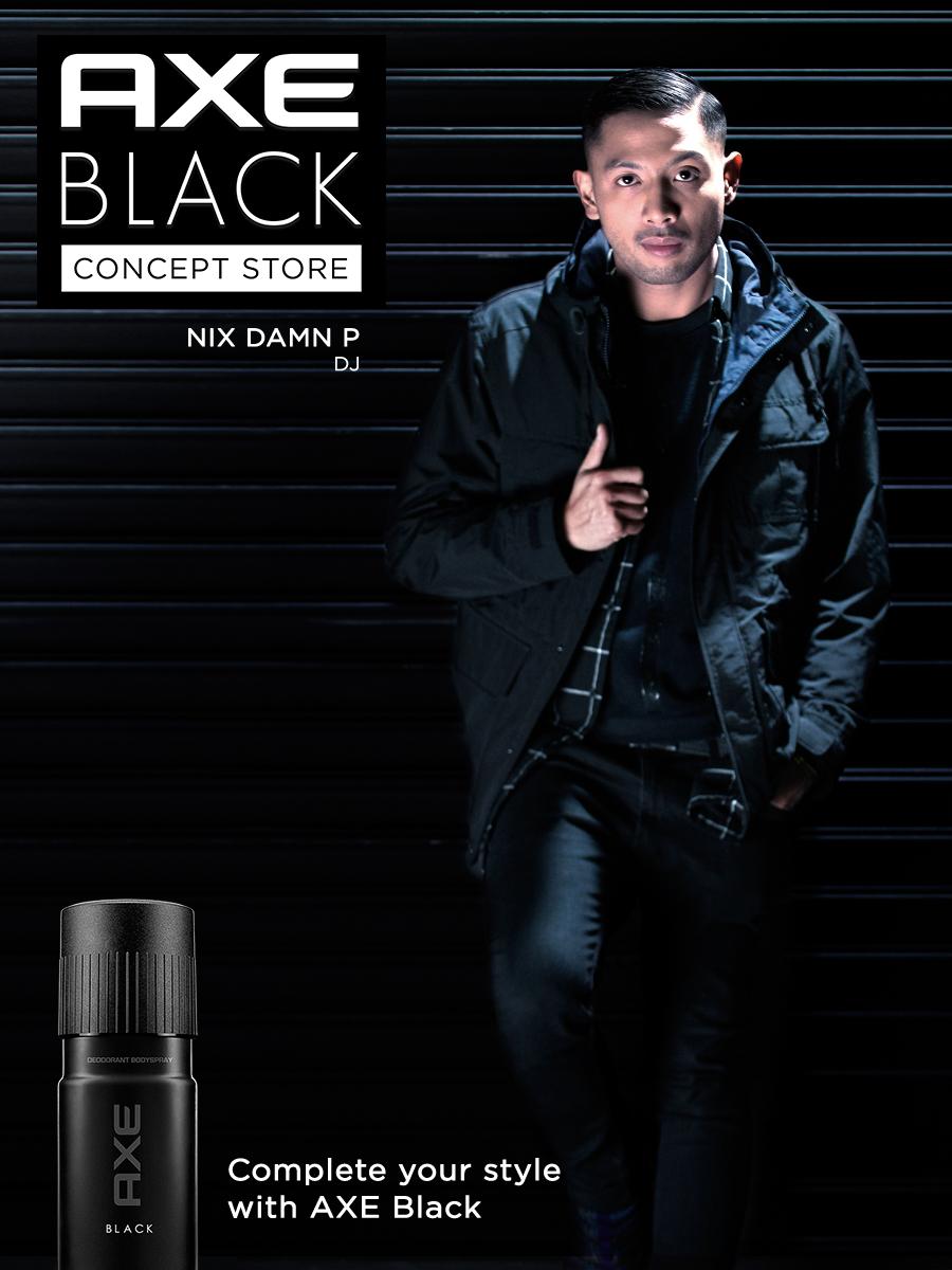 #AxeBlackNix