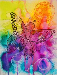 Week 2 - Zendoodle Butterfly