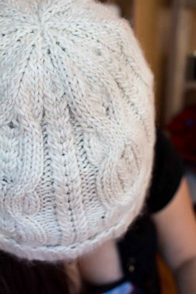 Alpaca Hat for Mom
