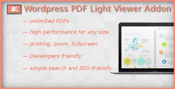 Codecanyon PDF Light Viewer PRO Addon v0.0.2