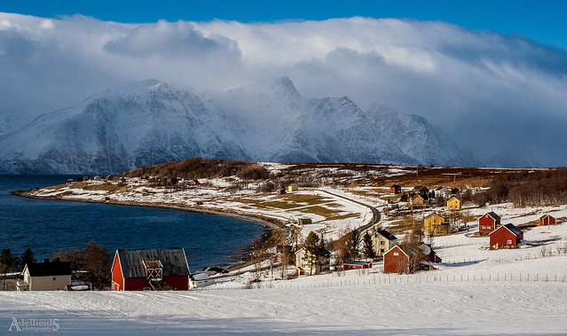 Late winter in Northern Norway