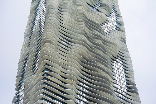 Radisson Blu hotel exterior, Chicago, USA