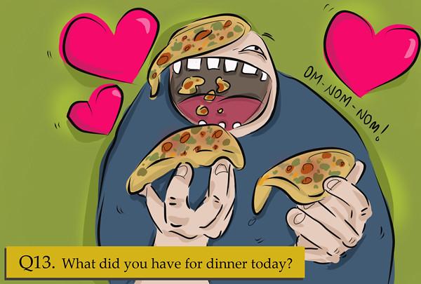 Pizza for dinner! ALWAYS!
