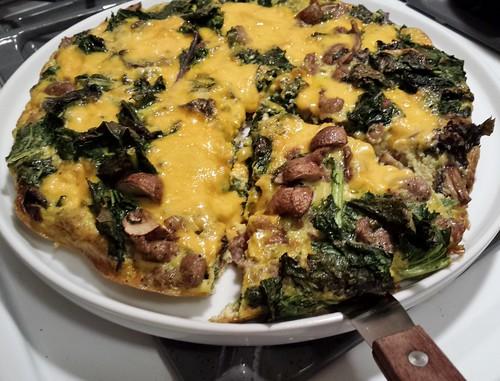 Sausage Kale Frittata