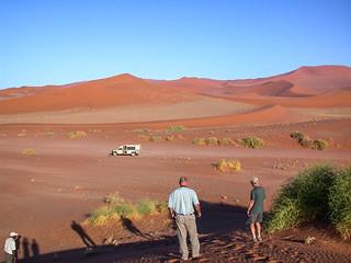 Dünenlandschaft von Sossusvlei