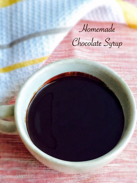 Homemade Chocolate Syrup Recipe for Toddlers and Kids3