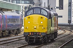 37116 at Cardiff Central