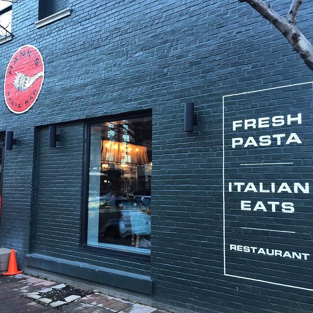 Hank's Pasta Bar in Alexandria, Virginia which opens February 3, 2016.