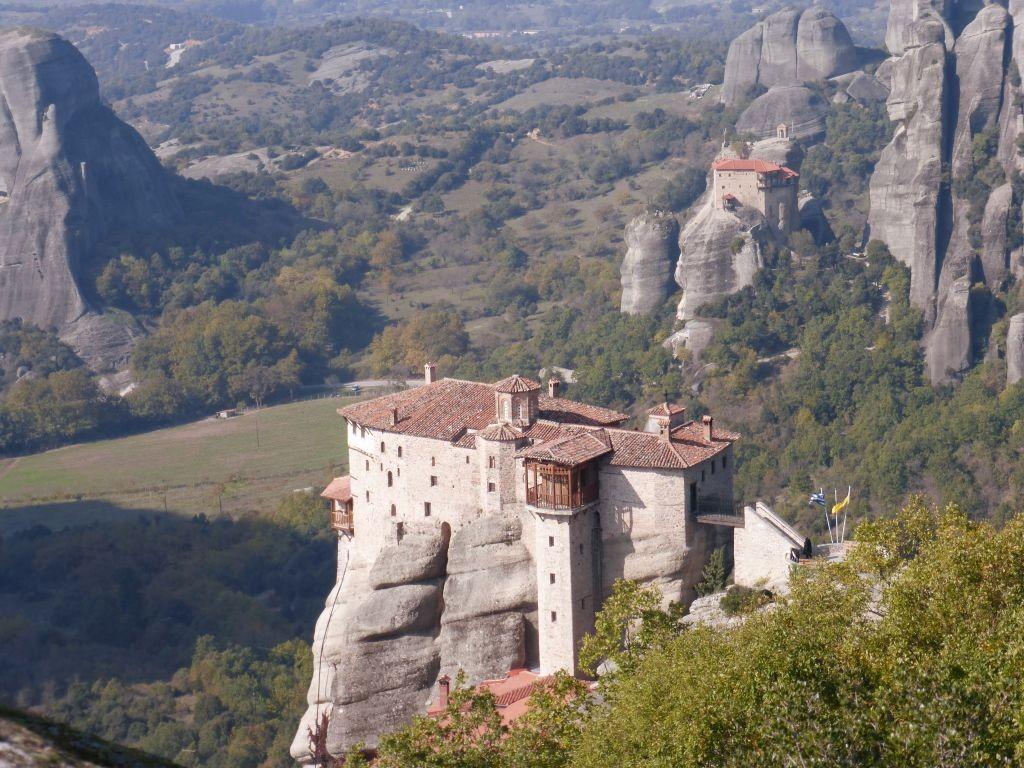 Monastery on Stone Pillars