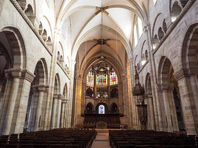 Inside Basel Minster
