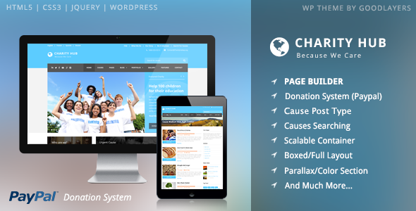 Charity Hub v1.09