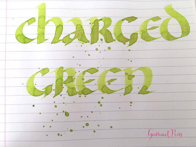 Ink Shot Review Lamy Charged Green 2016 Limited Edition @Fontoplum0 (6)