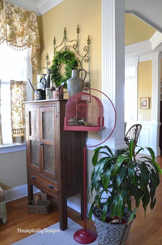 Sunroom/Pie Safe - Housepitality Designs