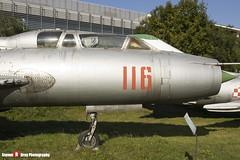116 - 2116 - Polish Air Force - Sukhoi SU-7 UM - Polish Aviation Musuem - Krakow, Poland - 151010 - Steven Gray - IMG_0346