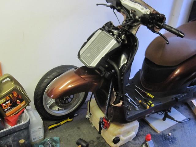WK GTR300 - front forks & rear shocks - Maxi-Muppets co uk