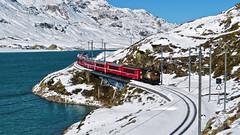 Bernina Express - Passo del Bernina - Grigioni - Svizzera