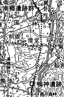 鴨神遺跡から南郷遺跡群への道