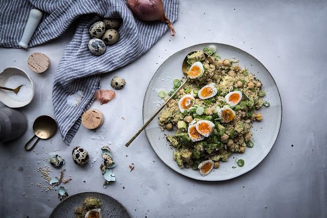 Quinoa salad blog