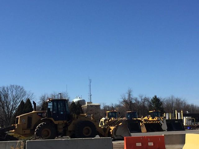 More heavy machinery.