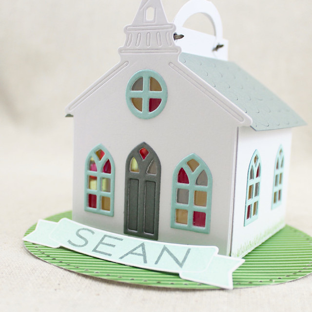 Church Placecard Side View