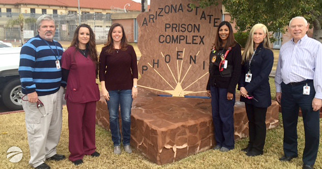 Department of Corrections recognizes Corizon Health intake team in Arizona