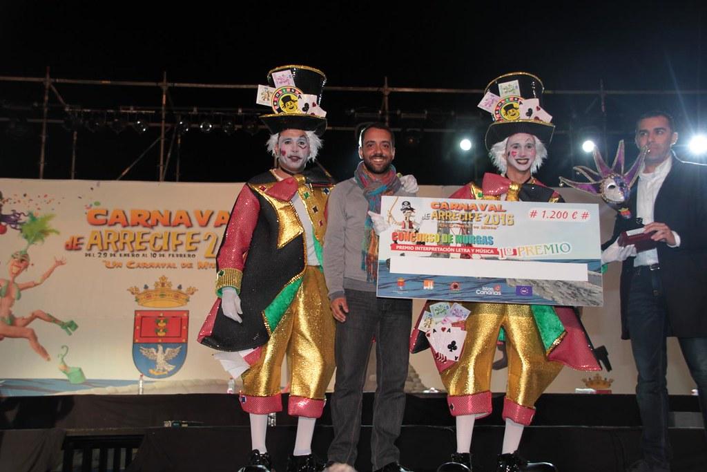 XXVIII Concurso Murgas  del Carnaval de Arrecife (Lanzarote) 2016 (46)