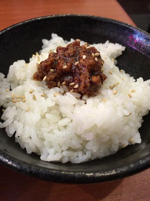 肉味噌ご飯@ふうみどう