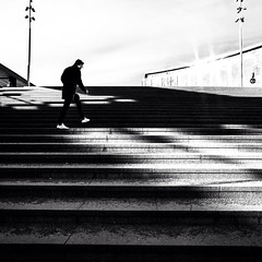 A game of shadows.  #centralstation #uppsala #sweden #Fujifilm_XSeries #XT10