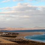 Evening sun - Playa Sotavento, Fuerteventura